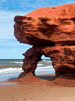 Seaview Red Sandstone Arch