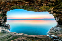 Sea Cave Sundown