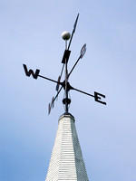 Weather Vane atop Chruch Steeple, PEI, Canada