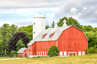 Red Door County Barn