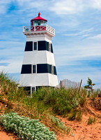 West Point Light & Dune, PEI, Canada