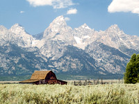 Old Barn on Mormon Row, Grand Tetons NP, Wyoming