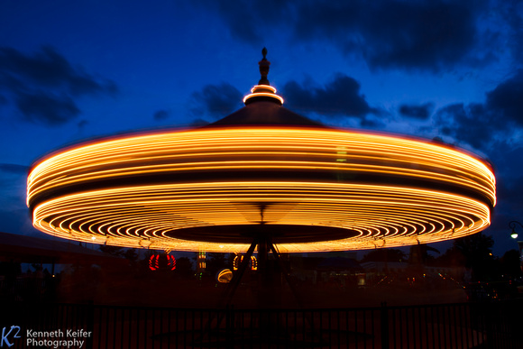 Carousel Long Exposure