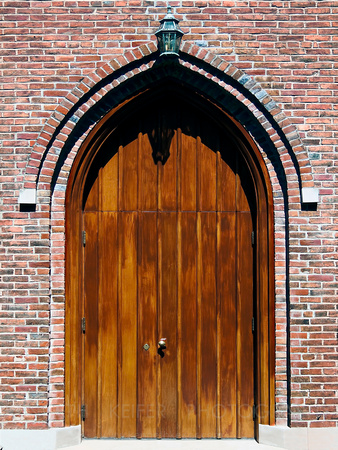 Gothic Church Door, Madison, Indiana