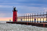 Clearing Skies at South Haven