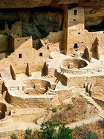 Cliff Palace (section), Mesa Verde National Park, Colorado
