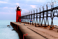 South Haven Lighthouse with Catwalk