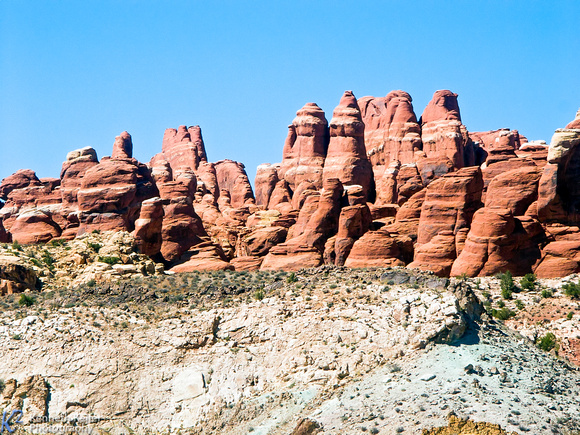Pinnacles at Arches