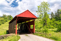 Danley Covered Bridge and Cows